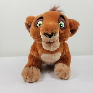 Vintage Disney Lion King 2 Kovu Talking Plush Stuffed Animal Toy Tested Working