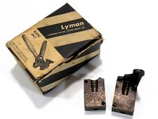 Lyman Bullet Mold 358156 38 Caliber 155 Grain Semi-Wadcutter Gas Check (358 Dia)