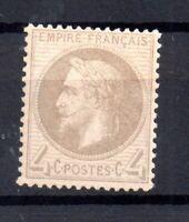 France 1863-71 4c Napoleon mint LHM fine WS16743