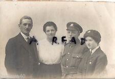 WW1 Family group Reg W B Thomas Welsh Regiment Gladys J Thomas BRCS from Cardiff
