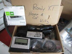 DELPHI ROADY XT XM SIRIUS SATELLITE RADIO COMPLETE WITH CAR & HOME KITS SA10175