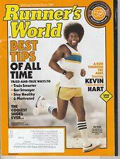 NOV 2016 RUNNERS WORLD magazine KEVIN HART retro look