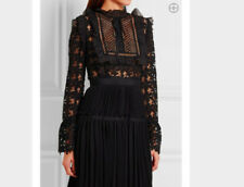 Cotton/Polyester Long Sleeve Lace Up Dresses for Women