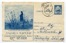 "Romania 1957 ""Bird Storm"" Film Cinema Movie Advertising v.rare stationery pc"