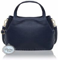 Ladies Italian Vera Pelle Soft Leather Handbag with Shoulder Strap