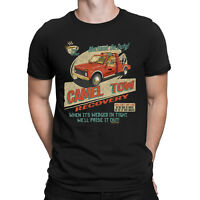Camel Tow Recovery - Mens Funny Novelty T-Shirt Birthday Christmas Clothing
