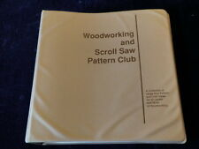 Woodworking and Scroll Saw Pattern Club Book with Many Many Patterns A60a