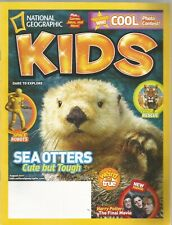 National Geographic Kids Magazine August 2011 Meerkat City/Sea Otters/Tiger