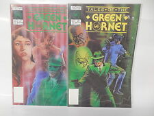 Tales Of The Green Hornet NOW Comic Books 1 & 2 Complete Set Dell Barras Art