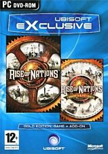 Rise Of Nations Édition or (Pc-Dvd) Neuf Scellé