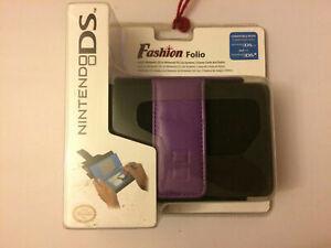 Fashion Folio Universal Case for Nintendo DS Lite DSi Purple Case US seller