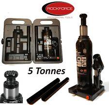 Cric bouteille hydraulique 5 Tonnes voiture 4x4 Fourgon 420 mm Professionnel