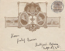 Royalty Used Cover European Stamps