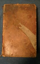 1829 Blair's Rhetoric University Edition Rhetoric and Belles Lettres Leather