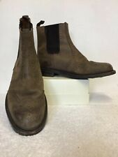 SAMUEL WINDSOR BROWN LEATHER CHELSEA BOOTS SIZE 12