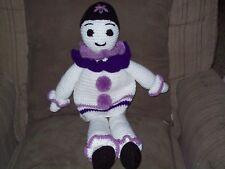 Crochet22 in Clown stuffed doll toy animal new handmade