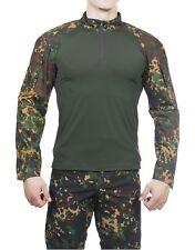 Révolution Russe Style Shirt Brave Soul Vol Escadron Kaki Ourlet Taille M