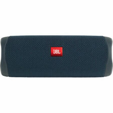 JBL Flip 5 Portable Waterproof Bluetooth Speaker (Blue)