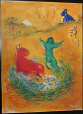 Marc CHAGALL, Offset Lithograph Bookplate, The Wolf Pit, Daphnis & Chloe Suite