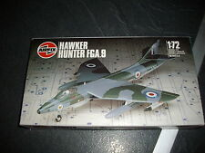 AIRFIX HAWKER HUNTER FGA.9  PLASTIC MODEL 1/72
