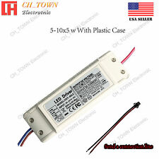 Constant Current LED Driver 50W 5-10X5W DC 18-34V 1500mA Lamp Bulb Power Supply