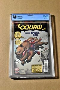 Lockjaw #3 CBCS 9.8 Amazing Fantasy #15 Homage Cover (Not CGC)