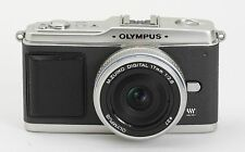 Camera Leather decoration sticker for Olympus E-P1/EP2 Gray