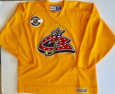 Columbus Blue Jackets Center Ice NHL Bud Light Party Zone CCM XL Hockey Jersey