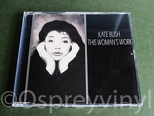 Kate Bush This Womans Work MINT Cd single with new case