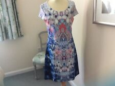 Betty Barclay Ladies Dress- multi coloured - size 12
