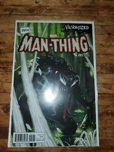 MAN-THING #1 VENOMIZED VENOM VARIANT~