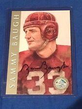 Sammy Baugh 1998 Ron Mix Hall Of Fame Platinum Signature Series Card HOF /2500