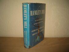 HAMLETS MILL (MYTH & THE FRAME OF TIME) GIORGO de SANTILLANA HARDBACK 1969