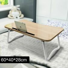 Adjustable Folding Laptop Desk Notebook Table Stand Portable Wooden Equipment