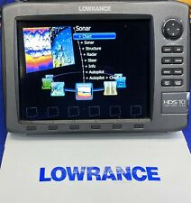 Lowrance HDS 10 Gen 2 GPS Chartplotter Sonar Fishfinder Multifunction Display