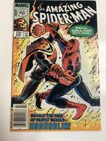 Spider-man (1983) # 250 (VF) Canadian Price Variant Beautiful Cover !