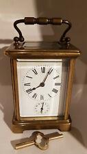 Pendule d'Officier sonnerie -  pendulette de voyage  -   carriage clock