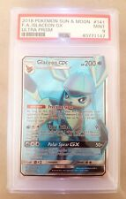GLACEON GX | PSA 9 (MT) | Full Art Pokemon Card