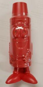 CRAYOLA BRAND RED PLASTIC FIGURAL TIP CHARACTER CRAYON SHARPENER ART CRAFTS