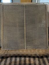 excalibur dehydrator trays only, 9 Stainless Steel Used Once 3926TB,3926B,3926TW