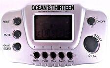 Ocean's Thirteen Handheld Video Poker Game Rare Warner Bros Tested / Working EUC