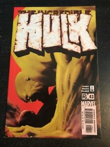 Incredible Hulk#43 Incredible Condition 9.4(2002) Weeks/Palmer Art!!