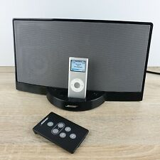Bose SoundDock iPod Docking Station Black  Comes With 4GB iPod Remote & Charger