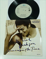 "MICHAEL JACKSON ""Remember The Time"" NM unplayed 1992 Epic 7"" Vinyl 45 PS 90s"