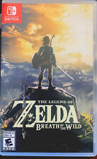 Legend of Zelda Breath of The Wild, Nintendo Switch Game, Used