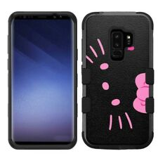 Samsung Galaxy S9 Plus Rugged Impact Hybrid Cover Case Hello Kitty #BP