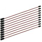 10Pcs 150mm Servo Extension Lead Wire JR Cable 3Pin Male to Female for RC Car E9