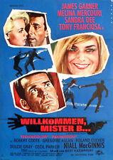 James Garner in WILLKOMMEN MISTER B. Originalplakat von 1965