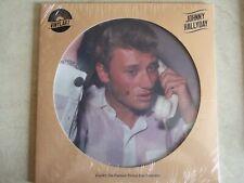 JOHNNY HALLYDAY 33 t VINYLART PICTURE DISC édition limitée  NEUF