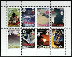 T458 GAMBIA Nature Reserves of the World MiniSheet Mint NH